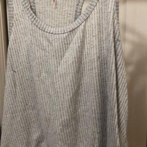 mittoshop Tops - Grey knit tank top